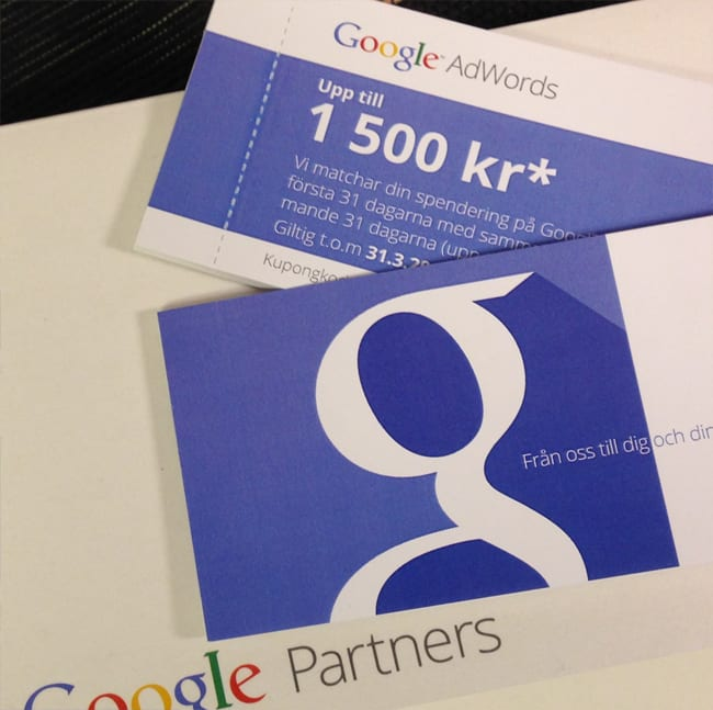 annonsera google adwords